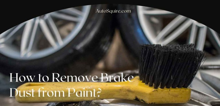 How to Remove Brake Dust from Paint